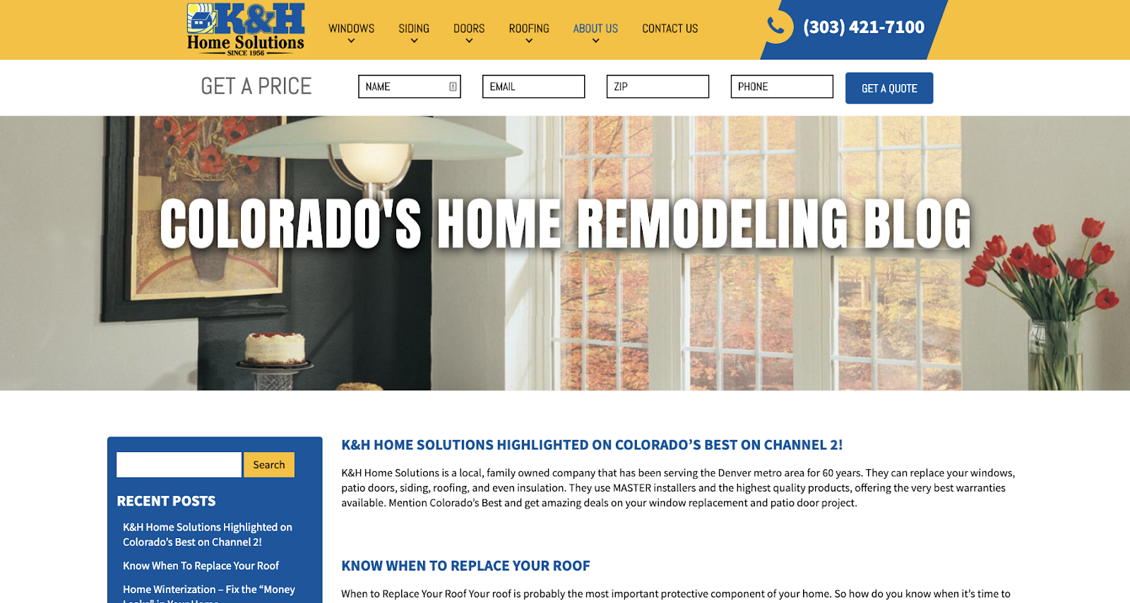 Reasons Your Window Company Needs a Blog 2