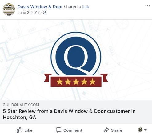 Social Media Strategy Ideas for Window Dealers 7