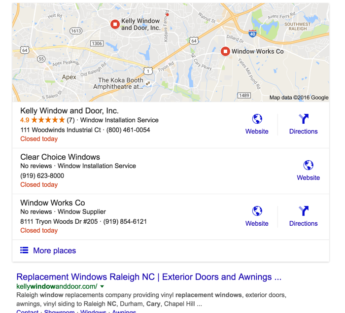 local lead generation using Google Maps