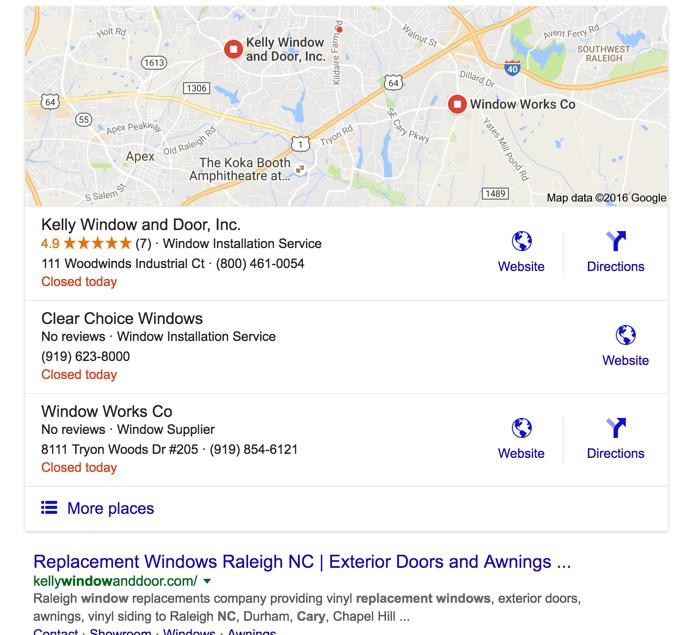 local lead generation using Google Maps